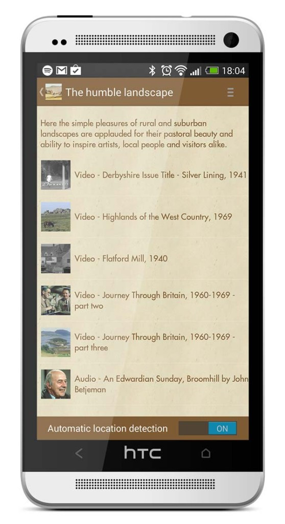 Recording Britain for Android